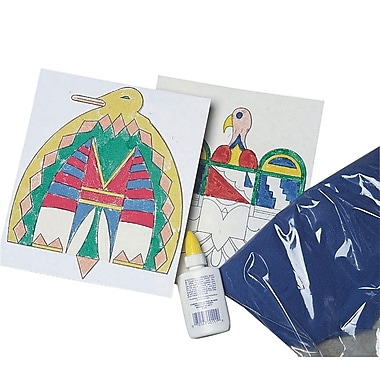 Geeperz™ Southwestern Sand Painting Craft Kit, 50/Pack