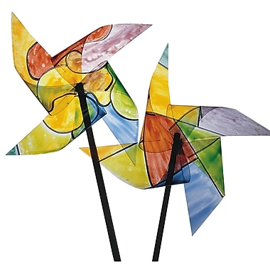 Geeperz™ Twirly Pinwheels Craft Kit, 24/Pack