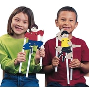 Geeperz™ Playful Puppet People Craft Kit, 24/Pack