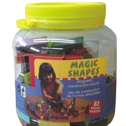 Edushape® Magic Shapes Toy In Jar, 81/Set