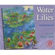 "S&S® 22"" X 17"" 24-Piece Puzzle, Water Lilies Art Puzzle"