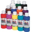 Color Splash® 8 oz. Liquid Tempera Paint, Assorted Colors