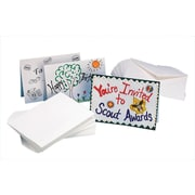 "S&S® 5"" X 7"" Blank Cards and Envelopes, 100/Pack"