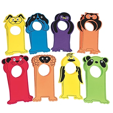 S&S PS1378 Multicolor Velvet Art EVA Animal Door Hangers, 11