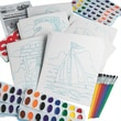 Geeperz™ Watercolor Paint-By-Numbers Craft Kit, 36/Pack