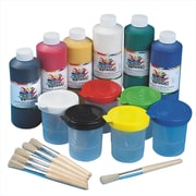 Color Splash® 16 oz. Washable Tempera Paint Easy Pack