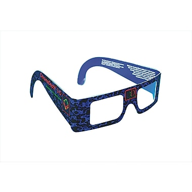 Geeperz™ ChromaDepth 3-D Glasses, 12/Pack