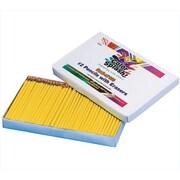 Color Splash® Pencils Plus Pack, 144/Pack, Yellow