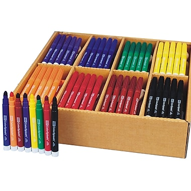Color Splash® Broadline Markers Plus Pack, 200/Pack