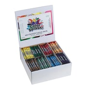 Color Splash® Crayons Plus Pack, 400/BoX