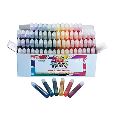 Color Splash® 0.34 fl. oz. Gel Stain Squeezers Bulk Pack