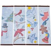 Geeperz™ Christmas Designer Panels Craft Kit, 24/Pack