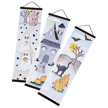 Geeperz™ Halloween Designer Panels Craft Kit, 24/Pack