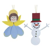 Geeperz™ Holiday Happy Ornaments Craft Kit, 60/Pack
