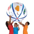 Color-Me™ 48in. White Beach Ball