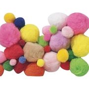 S&S TR185 1 lbs. Pom Poms in Assorted Sizes & Colors