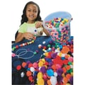S&S® 1/2 - 3/4in. Bucket Of Pom Pom Beads, Assorted