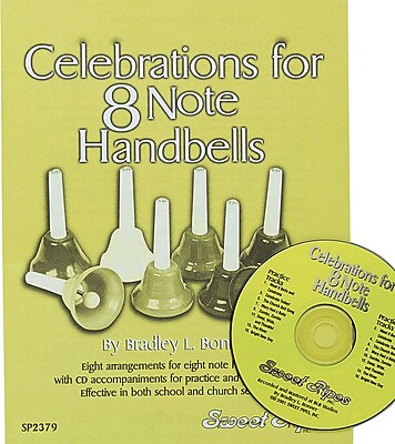 Rhythm Band Celebrations for 8 Note Handbells Book and CD 16570