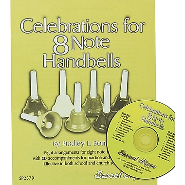 Rhythm Band Celebrations for 8 Note Handbells Book and CD