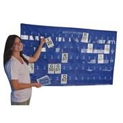 "S&S® 35"" X 60"" Complete Manual Bingo Masterboard"