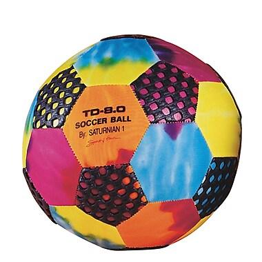 Saturnian™ Tie-Dye Gripper Soccer Ball, 8