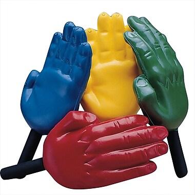S&S® Blue/Yellow Foam Hand Paddles