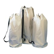"S&S® 14"" X 33-1/2"" Natural Canvas Equipment Tote"