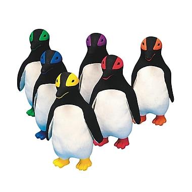 Spectrum™ Rubber Latex Mini King Penguin, 6/Set