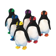Spectrum™ Rubber Latex Mini King Penguin, 6/Set