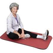 "S&S® Adult Bi-Fold EXercise Mats, 60"" X 24"""