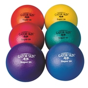 "Gator Skin® Super 90 Ball, 3 1/2""(Dia.), Assorted, 6/Set"