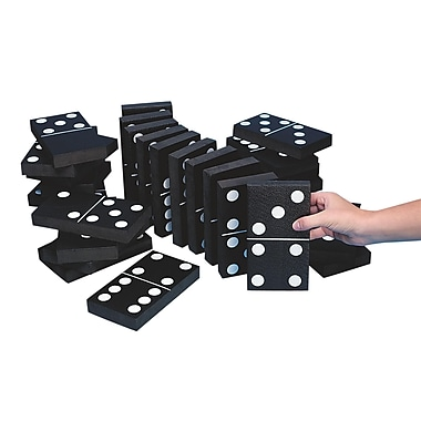 S&S® Jumbo Games Jumbo Foam Dominoes
