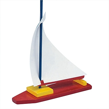 S&S® Unfinished Wooden Sailboat, 12/Pack