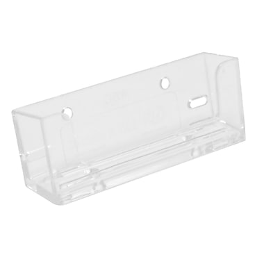 Horizontal Acrylic Business Card Holders with Mounting Capabilities