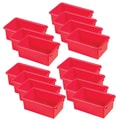 ECR4Kids® Stack and Store Tub Without Lid, Red