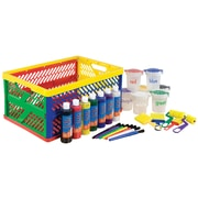 ECR4Kids® 8 oz. 27 Piece Learn Your Colors Paint Crate