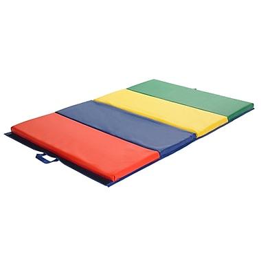 ECR4Kids® Four-Section Tumbling Mat, 4' x 6'