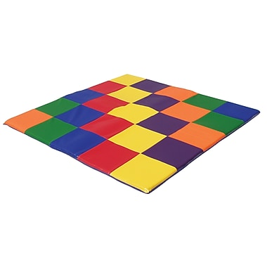 ECR4Kids® Softzone® Patchwork Toddler Mat