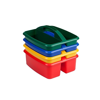 ECR4Kids® Large Art Caddy, Assorted, 4 Pieces/Set