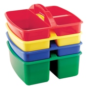 ECR4Kids® Small Art Caddy, Assorted, 4 Pieces/Set