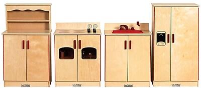 ECR4Kids Play Kitchen Set, 4 Pieces/Set 35831