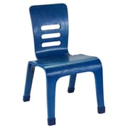 ECR4Kids® 10(H) Bentwood Chair, Blue, 2/Pack