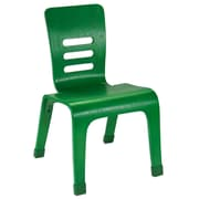 ECR4Kids® 12(H) Bentwood Chair, Green, 2/Pack