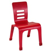 ECR4Kids® 12(H) Bentwood Chair, Red, 2/Pack