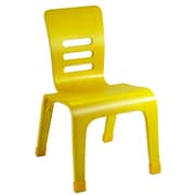 ECR4Kids® 10(H) Bentwood Chair, Yellow, 2/Pack