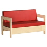 ECR4Kids® Living Room Sofa Set, Red