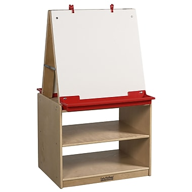 ECR4Kids® 2 Station Art Easel With Storage