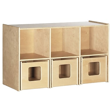 ECR4Kids® See and Store Shelf, Natural