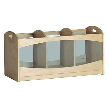 ECR4Kids® See Through Storage, Natural