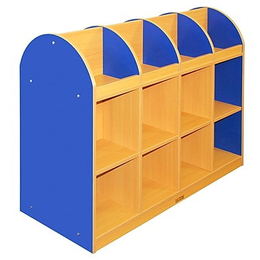 ECR4Kids® Colorful Essentials 2-Sided Standard Book Stand, Blue